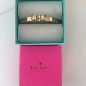 Kate Spade Gold Bow Bangle Bracelet